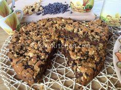 La torta cookies è un grande biscotto di pasta frolla con nocciole tritate e…