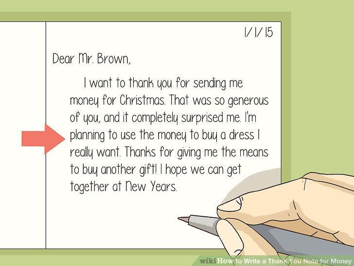 Write A Thank You Note For Money Graduation Thank You Cards