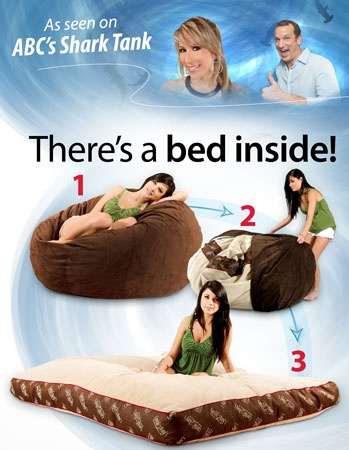 Watch Shark Tank on ABC, Season 4, Episode 17. See how a CordaRoys Sleeper magically converts to a bed.
