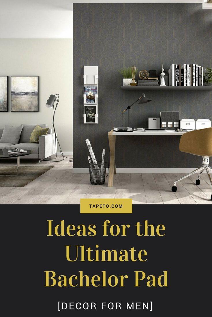 Decor For Men Ideas For The Ultimate Bachelor Pad Bachelor Pad Apartment Design Inspiration Bachelor Pad Decor