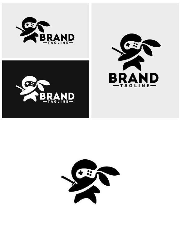 Ninja Gamer Logo | Monster Design | Game logo design, Ninja