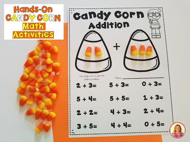 9 Candy Corn Fall Math Activities Fall Math Activities Halloween Math Activities Homeschool Fall Activities