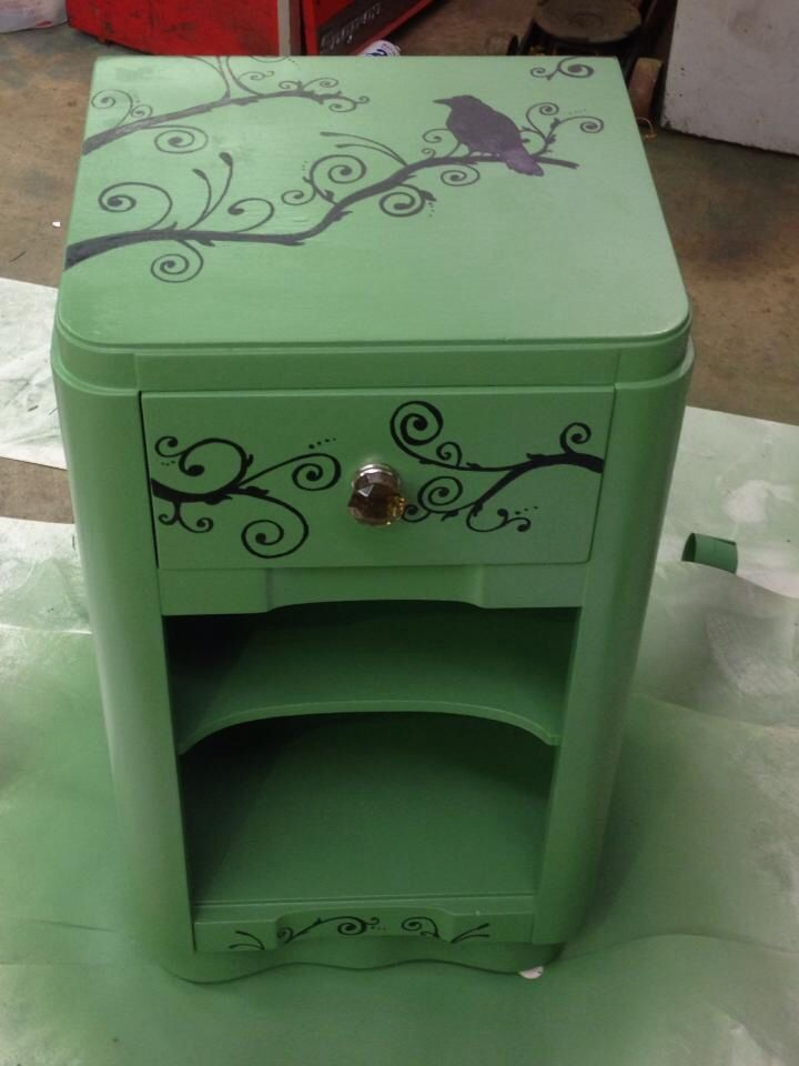 1000 Images About Painted End Tables Nightstands And