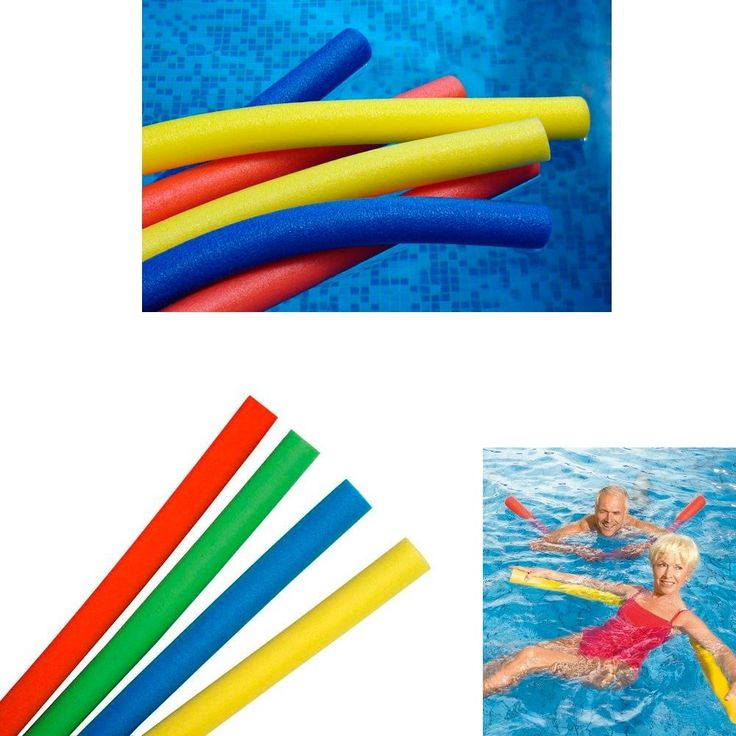 4 Swimming Floating Pool Foam Noodle Swim Noodles Water Float Floatie Crafts. Brand New. Excellent Quality. Fast Shipping.