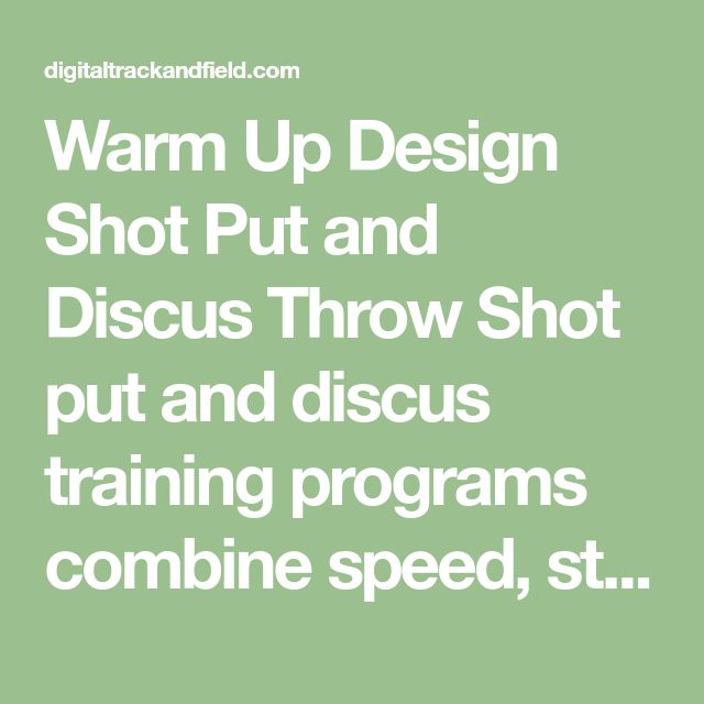8 best coaching eric age tamia robertson engl iii images on warm up design shot put and discus throw shot put and discus training programs combine speed fandeluxe Choice Image