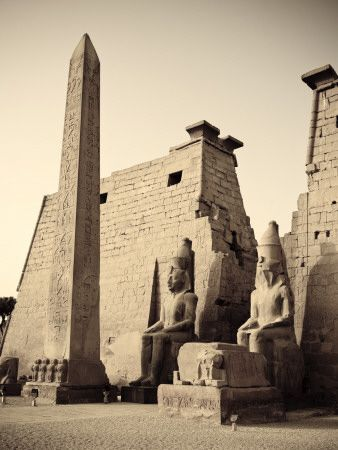 Luxor Temple, Luxor - Egypt. You feel like a vip going into this one