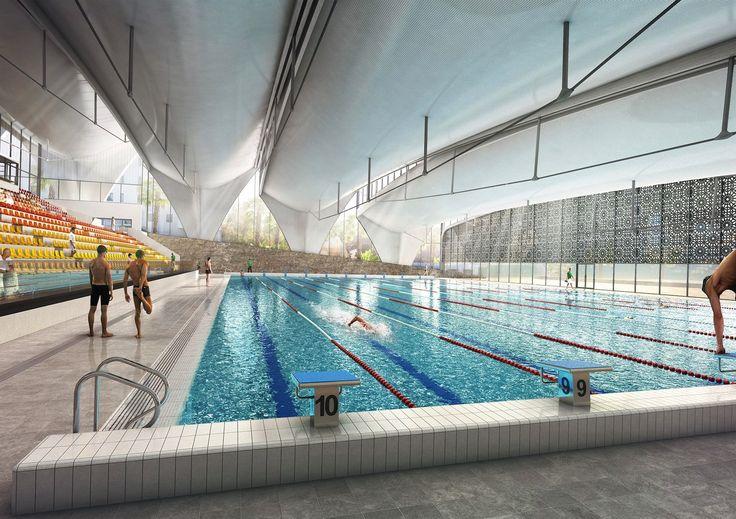Piscine Olympique Alger - Piscines et centres aquatiques | Agence Coste Architectures