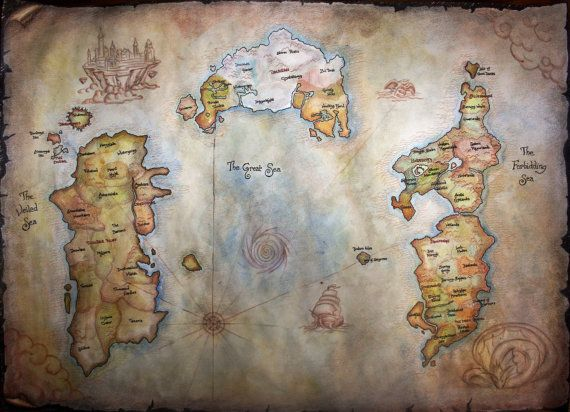 World-of-warcraft-map-handmade I need this now!!