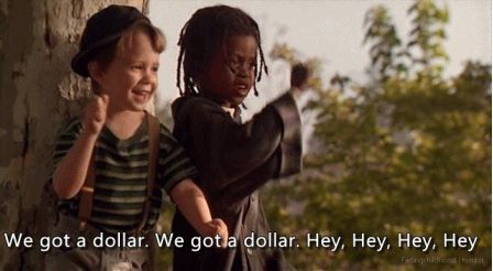 Having some money makes a relationship easier. | 22 Things The Little Rascals Taught Us About Romance