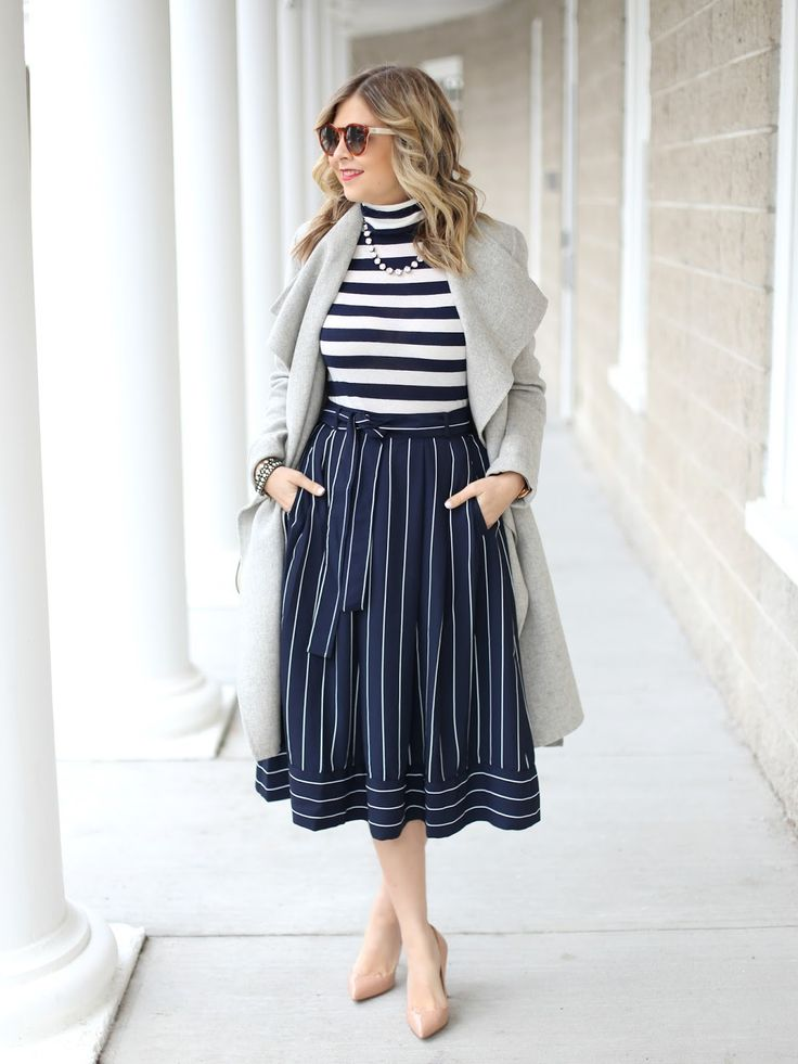 Stripes x Stripes ~ Suburban Faux-Pas