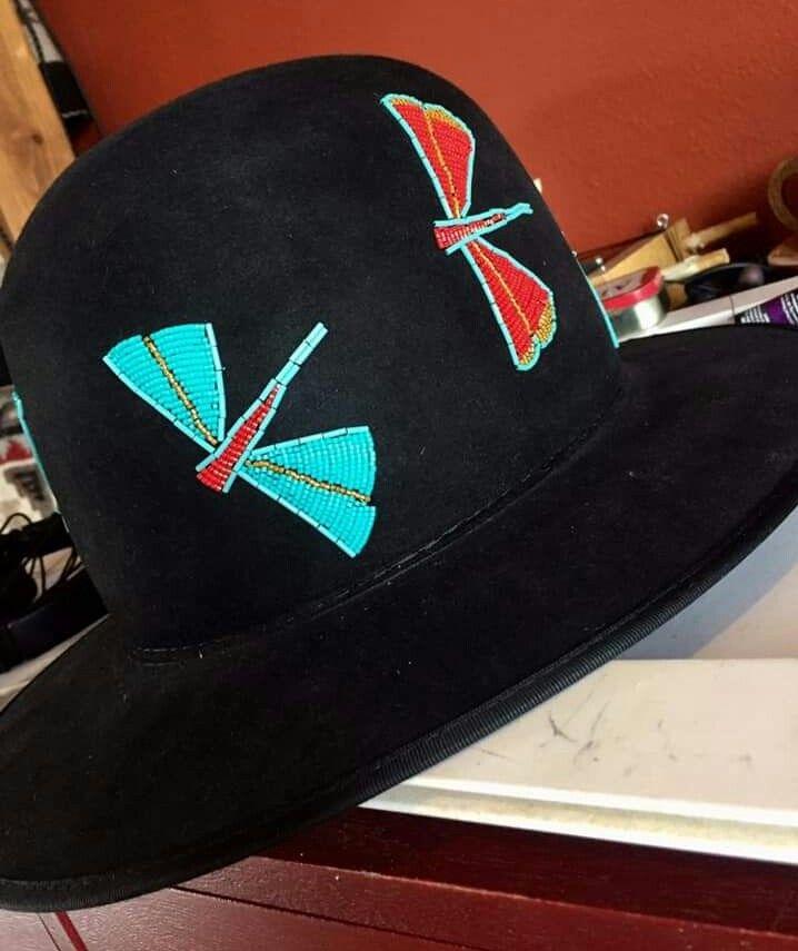 Durango Custom Hats And Saddles Beaded Hat Custom Hats Millinery