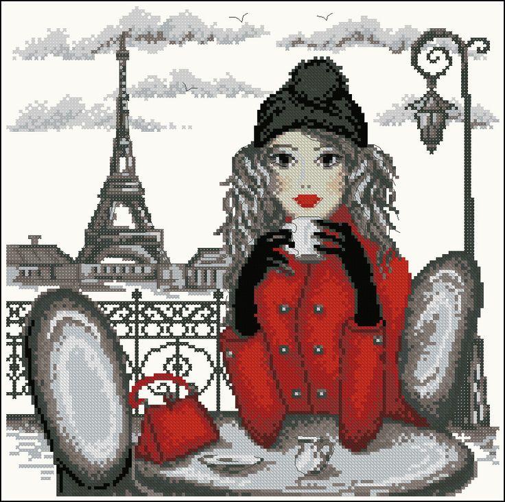 kávézás Párizsban / coffee at Paris / Париж