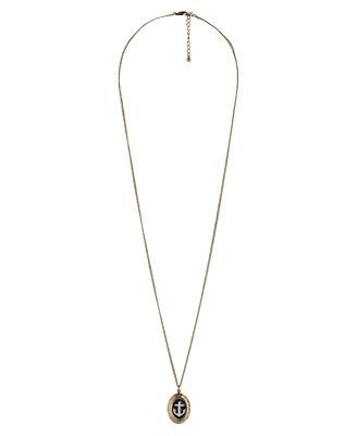 Anchor Locket Necklace - StyleSays