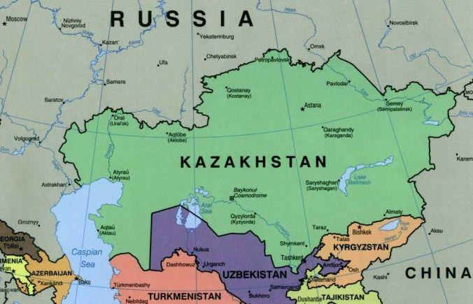6 Utili Consigli Per Sopravvivere In Kazakistan Asien Karte