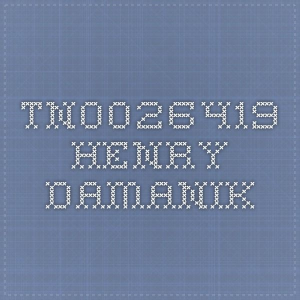 tn0026419 - Henry Damanik
