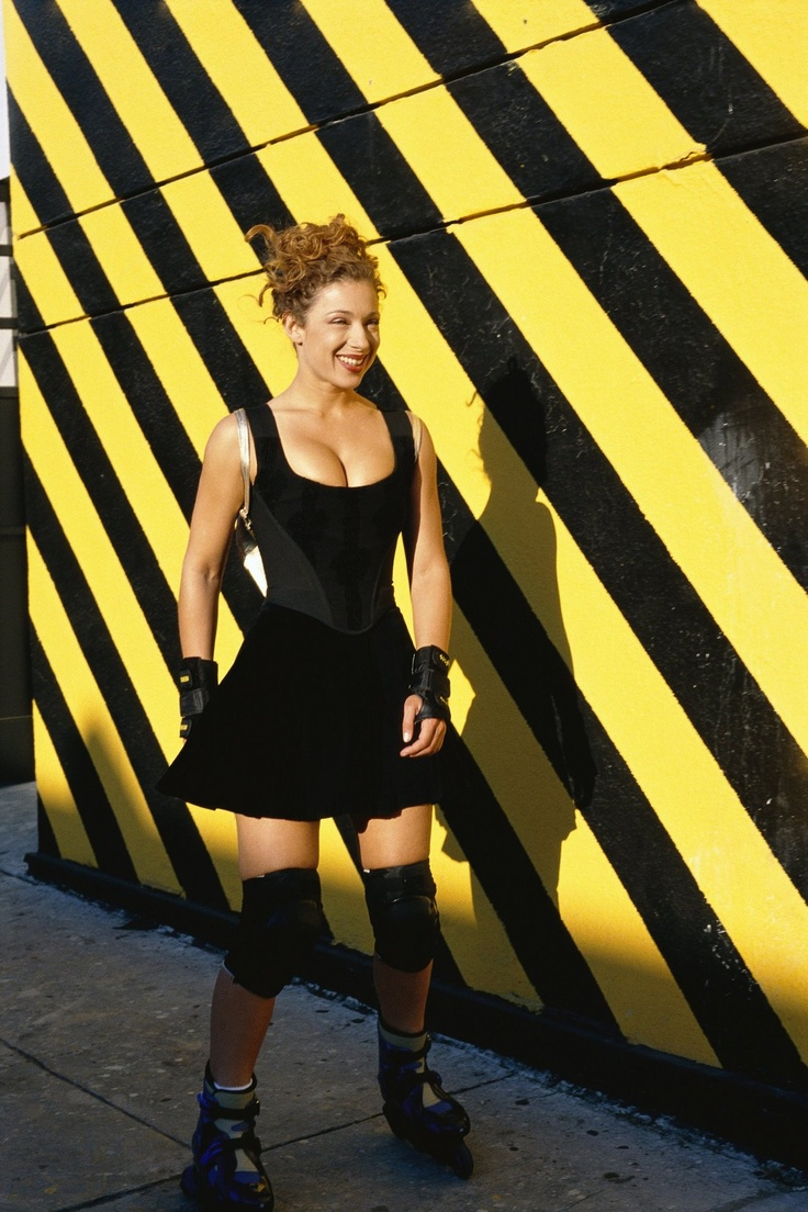 The lovely Alex Kingston -- SHE IS 52! for gods sake look at her roller skating and lookin bomb af