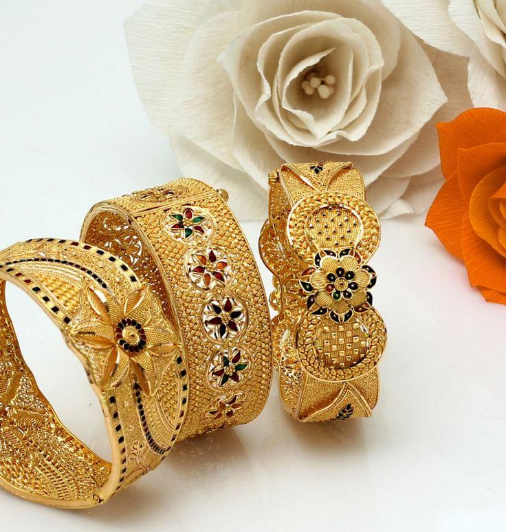 Golden Kadas for Diwali!!!