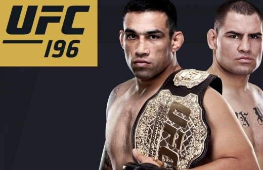 What's Going To Happen To UFC 196?