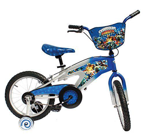Skylanders Kid's Bike, 16 inch Wheels, 11 inch Frame, Boy's Bike, Blue