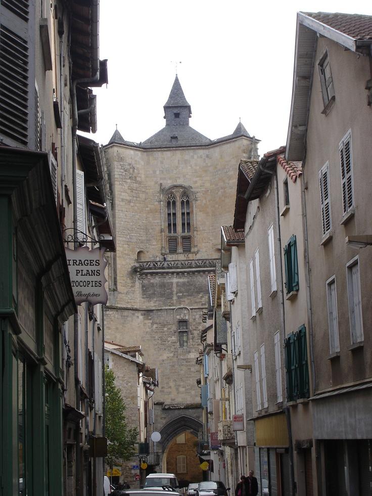 Villefranche de Rouergue. Aveyron, France La ville natale de mon père