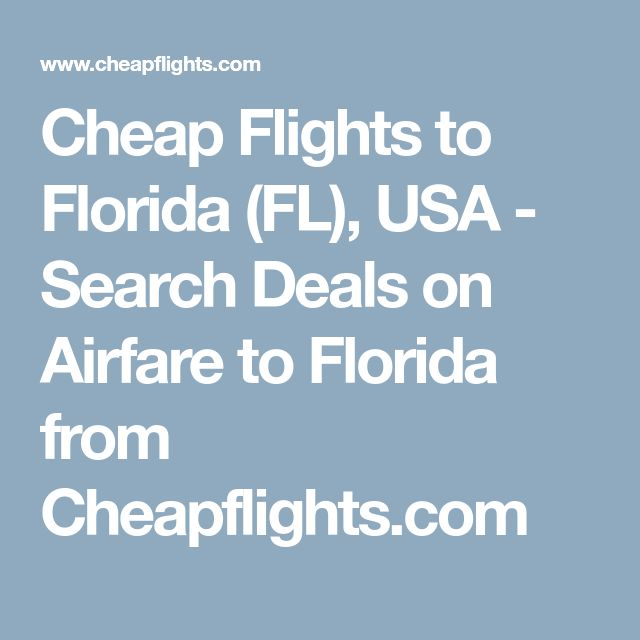 Cheap Flights To The Top Destinations In Florida Tampa: Best 25+ Fl Usa Ideas On Pinterest