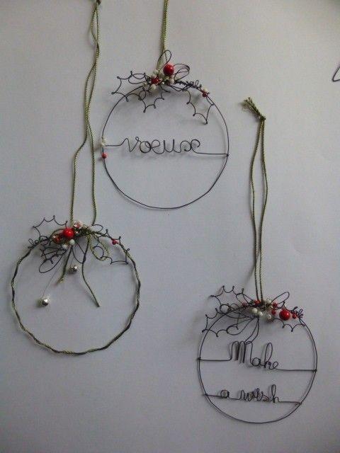 de simples couronnes aériennes et pleines de poésie pour vos vœux de noël