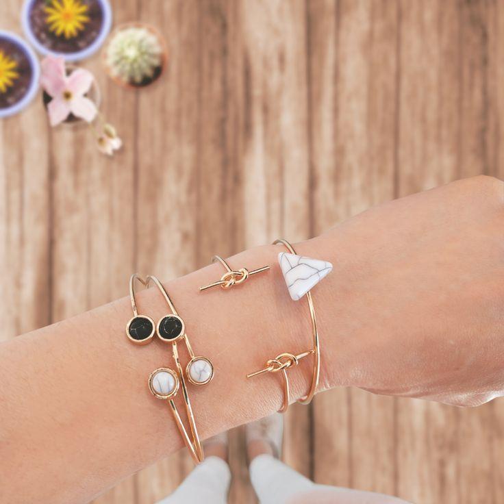 Minimal and elegant bracelets. #minimal #chic #elegant #bracelets #accessories #style #fashion #achilleas_accessories