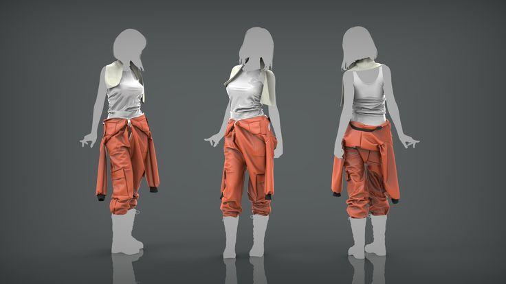 ArtStation - Marvelous Designer Clothing, Luke Darby