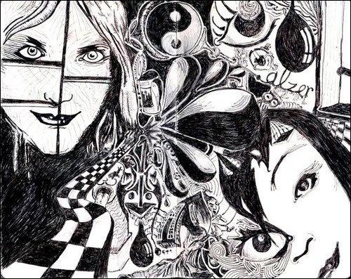 Dreams - Pen & Ink