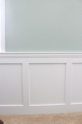 Soft Blue Green W Flat Panel Wainscoting Color Ideas For Sharon 39 S Bathroom Diy Crafts Ideas