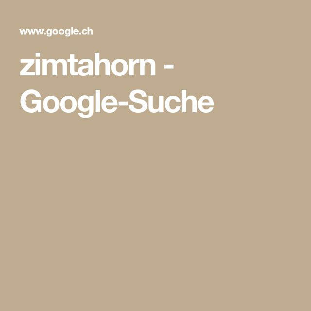 zimtahorn - Google-Suche