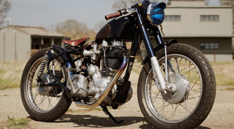 The Fox Royal Enfield Bullet Motorcycle