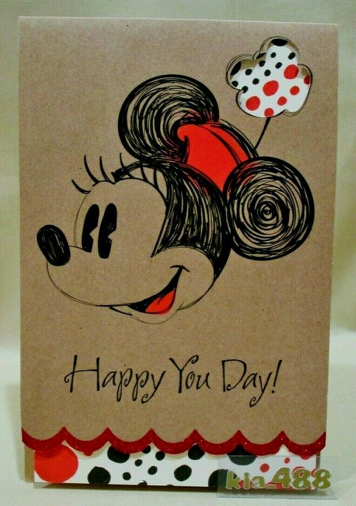 Disney Minnie Mouse Birthday Card Glitter Happy You Day American Greetings Card Affilink American Greetings Cards American Greetings Birthday Cards
