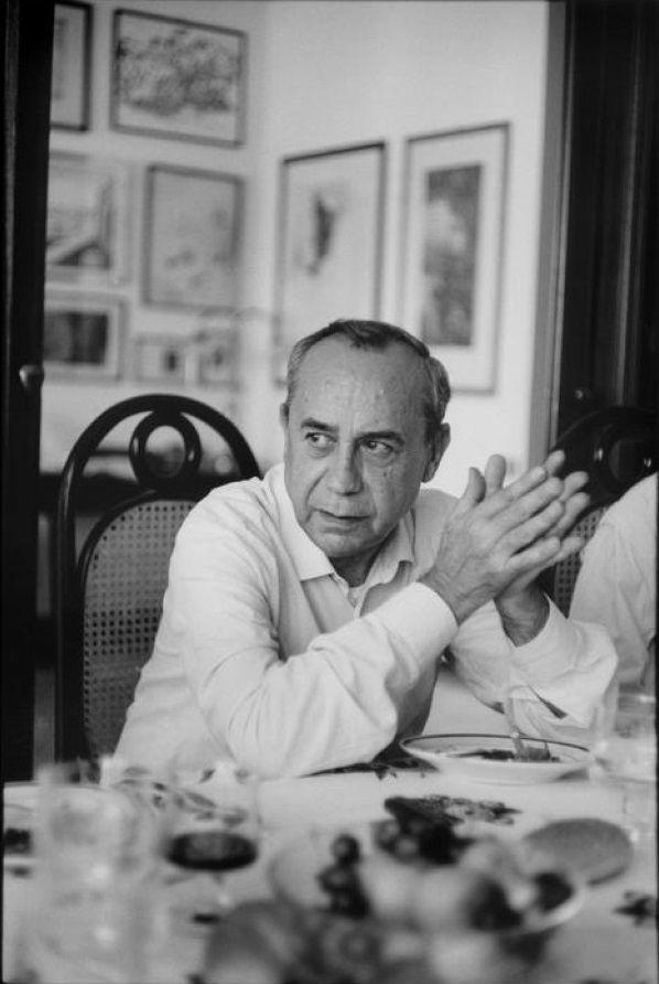 Henri Cartier-Bresson // ITALY. Sicily. Palermo. 1971. Italian writer, Leonardo…