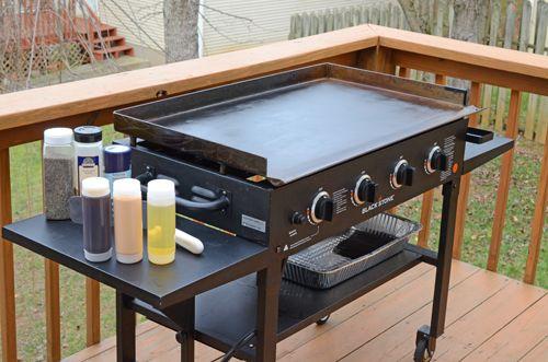 teppanyaki set up