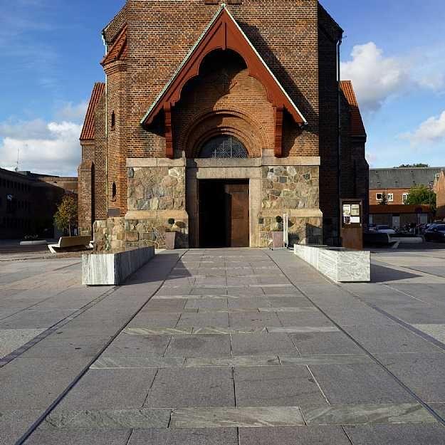 Church Square, Holstebro  C.F. Møller. Photo: Helene Høyer Mikkelsen