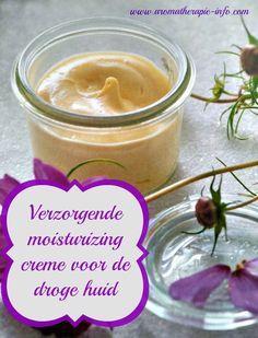 Een makkelijk recept voor verzorgende moisturizing creme die zeer geschikt is voor de droge huid.