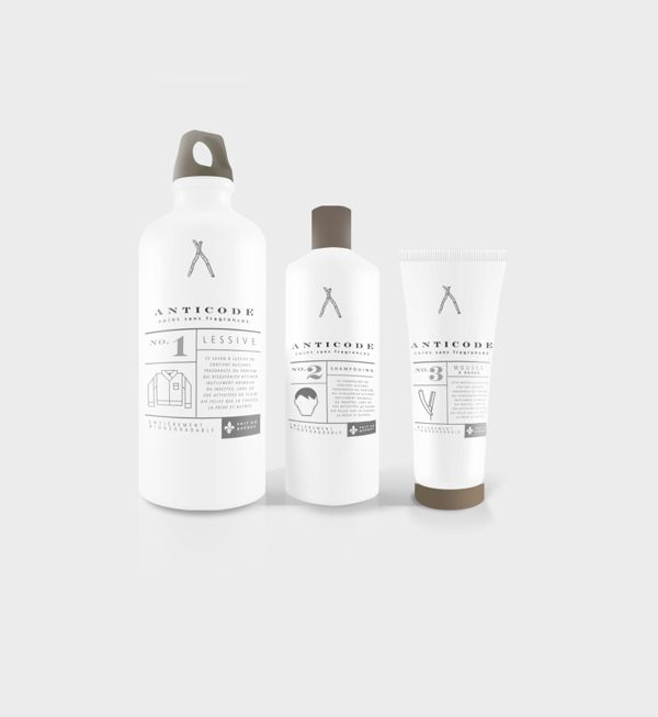 Body Care Product - Fragrance free - Outdoor by Francois Desjardins, via Behance