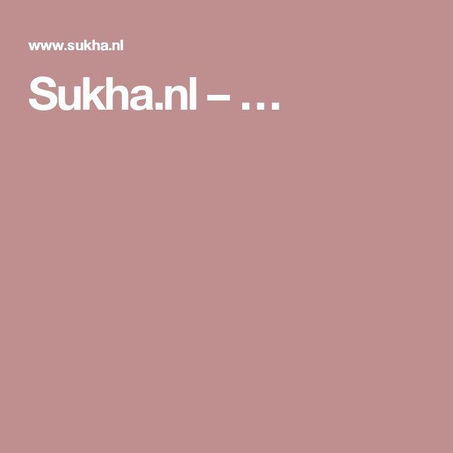 Sukha.nl – …