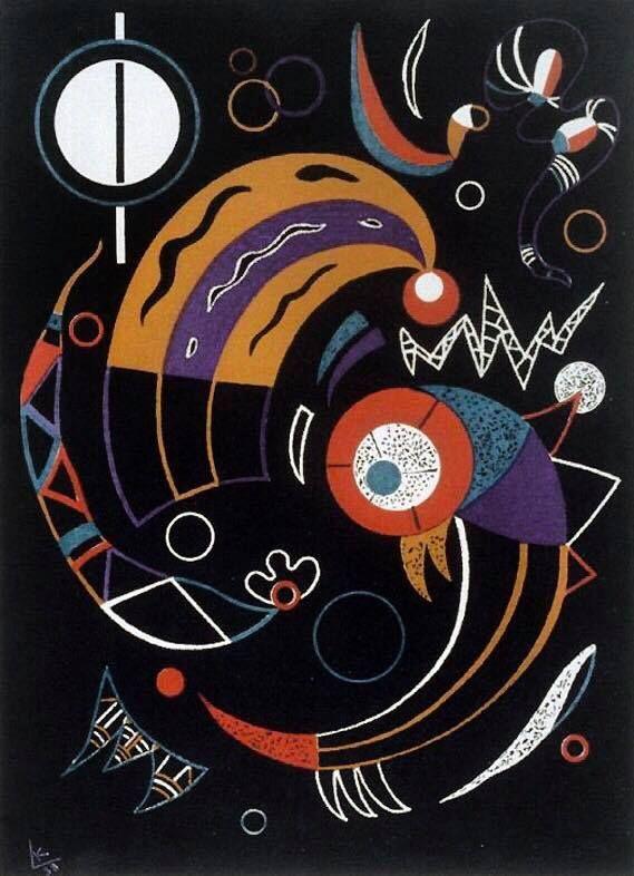 Wassilij Kandinskij, Comets, 1938.
