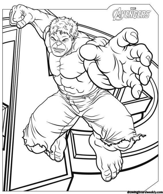 Coloring Page Avenger Hd Avengers Coloring Pages Avengers Coloring Hulk Coloring Pages