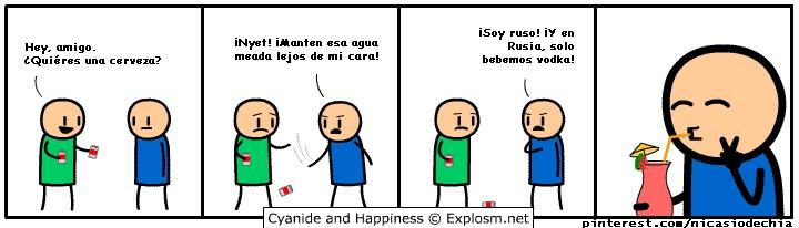 Cianuro y Felicidad 12-05-2013 El comic es un gif, link para verlo: http://k43.kn3.net/taringa/6/1/1/3/2/3/9/nicasiodechia/7AC.gif?8727