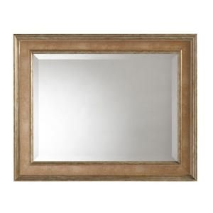 Martha Stewart Living Lucerne 30 in. x 24 in. Framed Mirror in Antique Pewter-71893 at The Home Depot