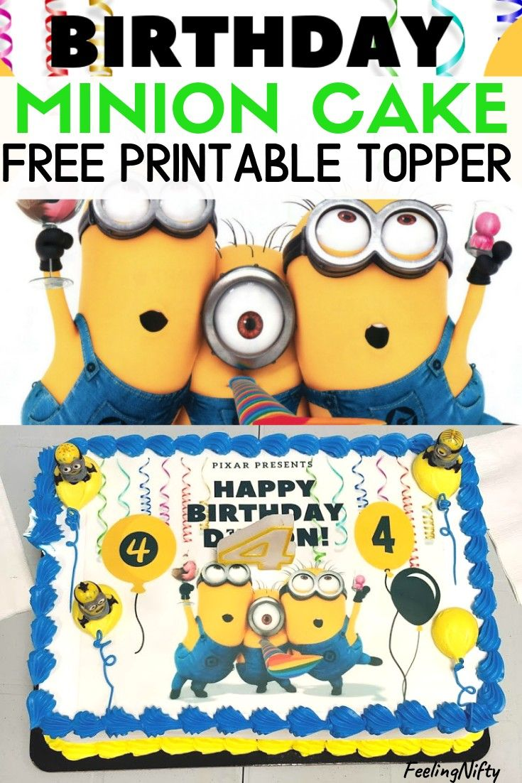 Terrific Minion Party Ideas Birthday Cake Fruit Tray Minion Balloons And Personalised Birthday Cards Cominlily Jamesorg