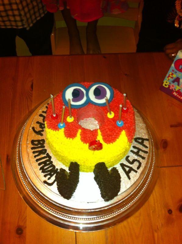 Asha's 5th Birthday Cake