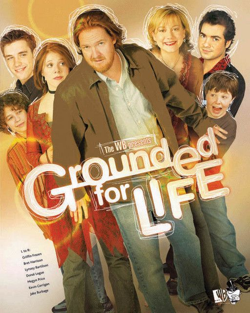 """Grounded for Life is a television sitcom that debuted on January 10, 2001. The show is set in an Irish neighborhood of Staten Island, New York and is about the comedic interplay of the Irish/Italian Catholic Finnerty family. One of the central aspects of the show is that Sean and Claudia Finnerty had their first child and got married when they were only 18 years old. Their eldest is a teenage daughter, the parents are themselves relatively young and not finished with their """"wild"""" years."""