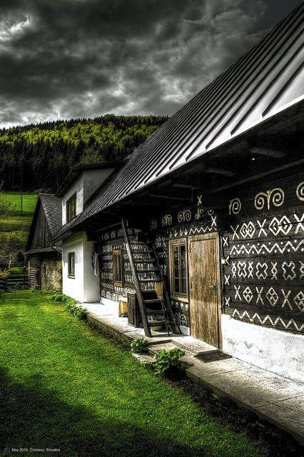 Čičmany, Slovakia.