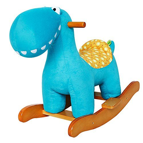 Labebe Child Rocking Horse Toy, Stuffed Animal Rocker Toy, Rocker for Kid 6-36 Months, Wooden Rocking Horse Plush/Outdoor Rocking Horse/Rocker/Animal Ride/Child Rocking Toy/ Rocker //Price: $77.99 & FREE Shipping //