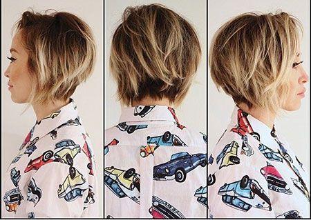 22.Short Bob Hair