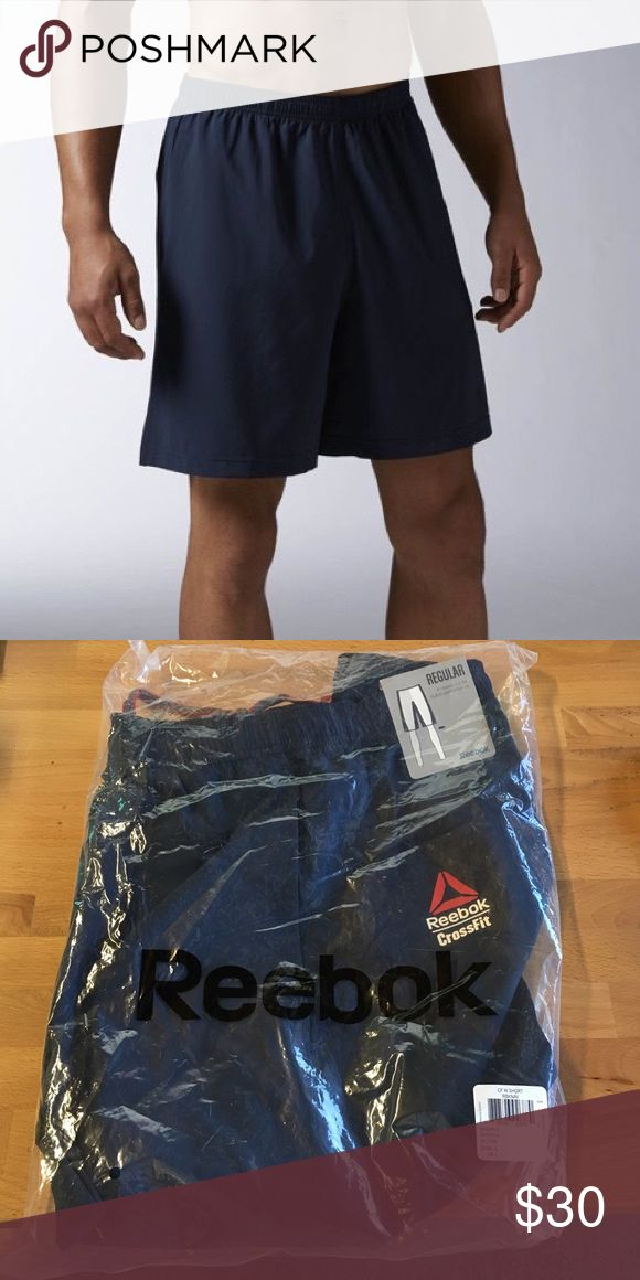 Men's Reebok CrossFit Austin 2 Short in Navy Brand new with tags! Reebok Shorts Athletic